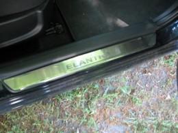 Накладки на пороги Hyundai ELANTRA IV (2007)
