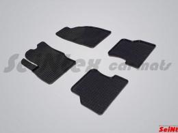Коврики резиновые (рисунок Сетка) для Ford Focus II 2005-2011