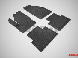 Коврики резиновые (рисунок Сетка) для Ford C-MAX 2003-н.в.