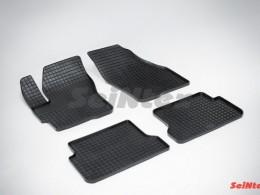 Коврики резиновые (рисунок Сетка) для Mazda 3 2003-2009