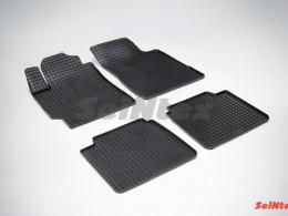 Коврики резиновые (рисунок Сетка) для Toyota Camry VI 2006-2012