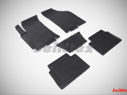 Коврики резиновые (рисунок Сетка) для Chevrolet Lacetti 2004-2013