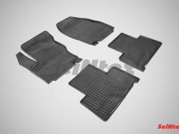 Коврики резиновые (рисунок Сетка) для Ford S-MAX 2006-н.в.