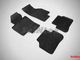 Коврики резиновые (рисунок Сетка) для Volkswagen Passat B6 2005-2010