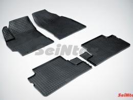 Коврики резиновые (рисунок Сетка) для Toyota Corolla X (300N/MC) 2007-2013
