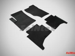 Коврики резиновые (рисунок Сетка) для Volkswagen Touareg I (7L) 2002-2010