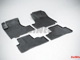 Коврики резиновые (рисунок Сетка) для Honda CR-V 2006-2012