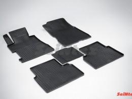 Коврики резиновые (рисунок Сетка) для Honda Civic VIII Sedan 2006-2011
