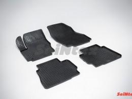 Коврики резиновые (рисунок Сетка) для Ford Mondeo IV 2007-2010