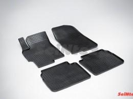 Коврики резиновые (рисунок Сетка) для Mazda 6 2008-2012