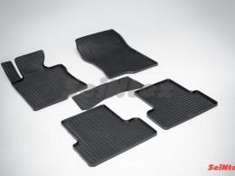 Коврики резиновые (рисунок Сетка) для Honda Accord VIII 2007-2012