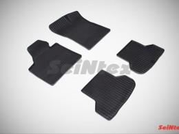 Коврики резиновые (рисунок Сетка) для Audi A-3 2003-2013