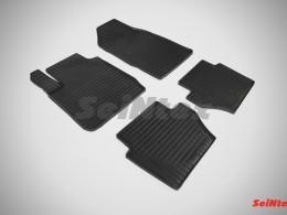 Коврики резиновые (рисунок Сетка) для Ford Fiesta IV 2008-2014