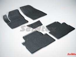 Коврики резиновые (рисунок Сетка) для Ford Kuga I 2008-2012