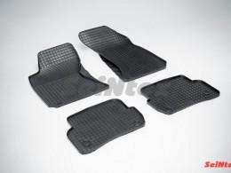 Коврики резиновые (рисунок Сетка) для Volkswagen Passat B5 1996-2005