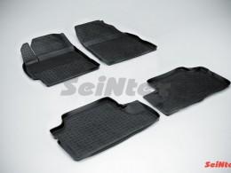Резиновые коврики с высоким бортом для Toyota Corolla X (300N/MC) 2007-2013