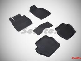 Резиновые коврики с высоким бортом для Ford Fiesta 2008-2014