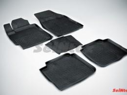 Резиновые коврики с высоким бортом для Toyota Camry VI 2006-2012