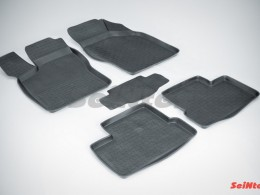 Резиновые коврики с высоким бортом для Daewoo Nexia 1994-2016