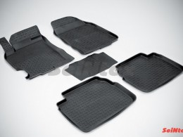 Резиновые коврики с высоким бортом для Mazda 6 2008-2012