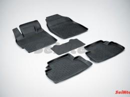 Резиновые коврики с высоким бортом для Mazda CX-7 2006-2012