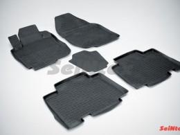 Резиновые коврики с высоким бортом для Toyota RAV4 III L 2006-2012