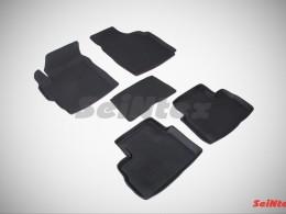 Резиновые коврики с высоким бортом для Daewoo Matiz 1998-2015