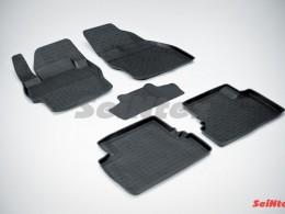 Резиновые коврики с высоким бортом для Mazda 3 2009-2013