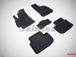 Резиновые коврики с высоким бортом для Chevrolet Lanos 2005-2009