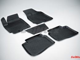 Резиновые коврики с высоким бортом для KIA Cerato 2009-2013