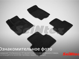 Ворсовые 3D коврики для Honda Accord IX 2012-н.в.