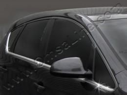 Нижние молдинги стекол (нерж.) 8 шт. Opel Astra J Hatchback (2009-)