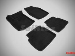 Ворсовые 3D коврики для Chervrolet Aveo I 2003-2011