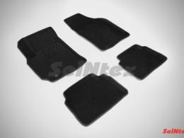 Ворсовые 3D коврики для Chervrolet Lacetti 2004-2013