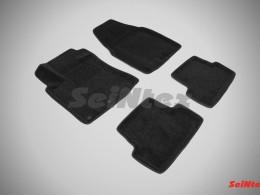 Ворсовые 3D коврики для Nissan Qashqai 2007-2014