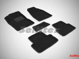 Ворсовые 3D коврики для Nissan X-Trail (T31) 2007-2015