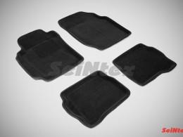 Ворсовые 3D коврики для Nissan Almera classic (B10) 2006-2013