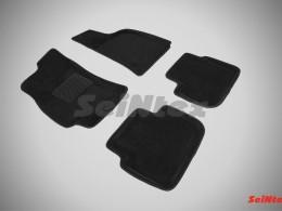 Ворсовые 3D коврики для Chervrolet Lanos 2005-2009