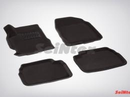 Ворсовые 3D коврики для Mazda 3 2009-2013