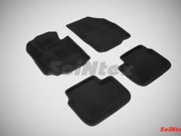 Ворсовые 3D коврики для Suzuki SX4 I 2006-2014
