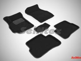 Ворсовые 3D коврики для Hyundai Accent 1999-2012