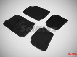 Ворсовые 3D коврики для Hyundai i20 2009-2012