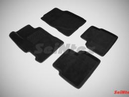 Ворсовые 3D коврики для Honda Civic VIII Sedan 2006-2012