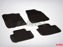 Ворсовые 3D коврики для Nissan Teana II 2008-2014