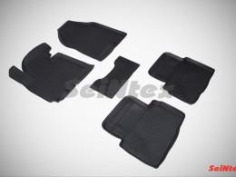 Резиновые коврики с высоким бортом для Hyundai ix35 2010-н.в.