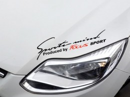 Наклейка на капот Sport Mind Focus