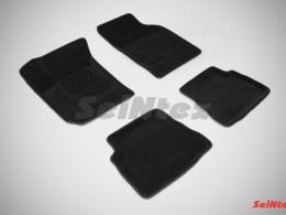 Ворсовые 3D коврики для Hyundai Getz 2002-2009
