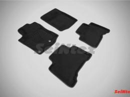 Ворсовые 3D коврики для Toyota Land Cruiser Prado 150 2014-н.в.