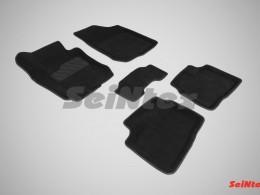 Ворсовые 3D коврики для Hyundai Elantra 2006-2010