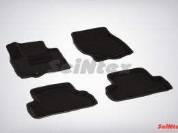 Ворсовые 3D коврики для Infiniti QX50 (EX35) 2007-2015